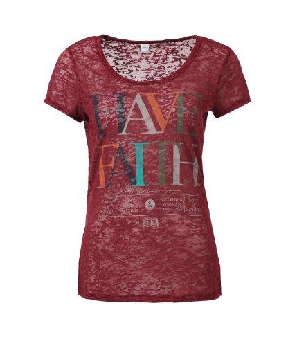 s.Oliver Damen T-Shirt 14.308.32.8562, Rundhals