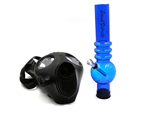 Smokditrots-Skull-Design-Gas-Mask-17-inch-Length-Tobacco-Hookah-Shisha-Straight-Hose-Pipe-Complete-Set