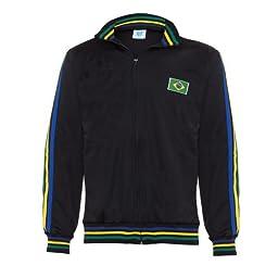 Jlsport Black Capoeira Zipped Jacket Brasil Tracksuit Jumper Man Top Long Sleeve