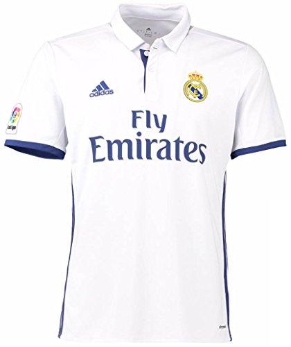 adidas(アディダス) レアル・マドリードCF ホームユニフォーム 2016/17 [5 ジダン] [サイズ:インポートS] Real Madrid CF Home Shirt 2016/17 [5 Zidane] [Size:Import S] [並行輸入品]