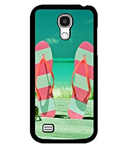 printtech Beach Hawaii Slipper Back Case Cover for Samsung Galaxy S4::Samsung Galaxy S4 i9500