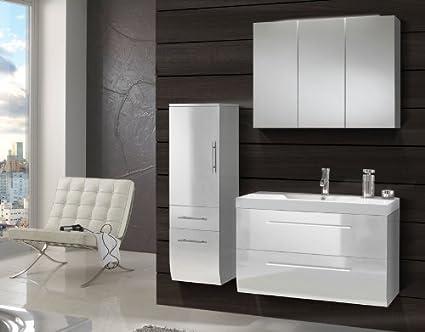 sam design badm bel set z rich 3 teilig in wei. Black Bedroom Furniture Sets. Home Design Ideas