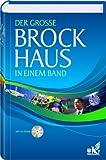 Der große Brockhaus in einem Band mit CD ROM, 4. Auflage
