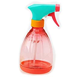 OneCreation Plant Spray Bottle 13 OZ. (Red) Water Chemical Pressure Sprayer Adjustable Nozzle Garden Tool Plastic Refillable Container