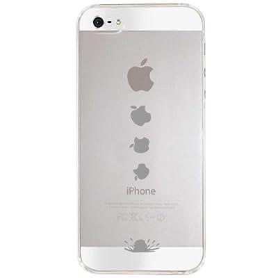 【Clear Arts】【iPhone5ケース カバー】【スマホケース カバー】【落ちるアップルマーク】クリアー・アーツ ip5-10-ca0010 スマートフォン
