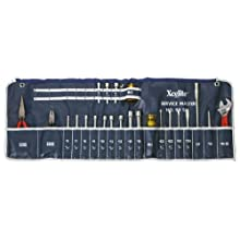 Xcelite 99SM 23-piece Series 99 Service Roll Kit with Canvas Case