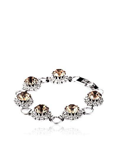Crystal from Swarovski Armband Saton versilbert