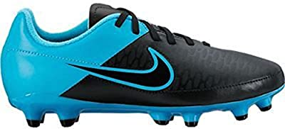 Nike Jr. Magista Onda FG Soccer Cleat (Black, Turquoise Blue)