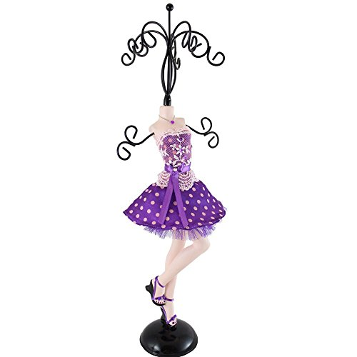 jacki-design-polka-dot-romance-mannequin-jewelry-holder-large-purple-jgs23002