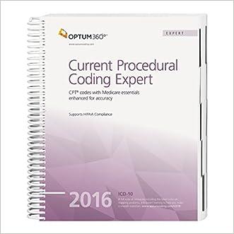 Current Procedural Coding Expert - 2016 (Spiral) (CPT EXPERT (SPIRAL))