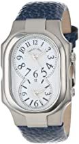 Philip Stein Unisex 2-NFMOP-CGRBL Signature Mother-Of-Pearl Royal Blue Grainy Calf Strap Watch