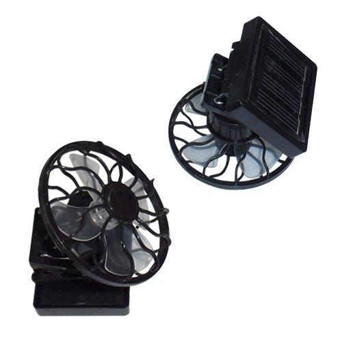 Solar Energy Powered Clip-on Mini Fan (Solar Powered Portable Cooler compare prices)