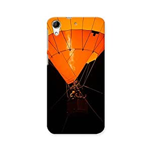 ArtzFolio Air Balloon : HTC Desire 728G Dual Sim Matte Polycarbonate ORIGINAL BRANDED Mobile Cell Phone Protective BACK CASE COVER Protector : BEST DESIGNER Hard Shockproof Scratch-Proof Accessories