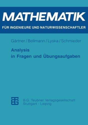 Analysis in Fragen und Ç?bungsaufgaben