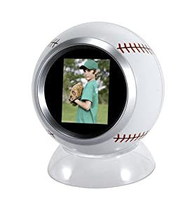 Mark Feldstein & Associates SB100BB Baseball Digital Photo Viewer (White)
