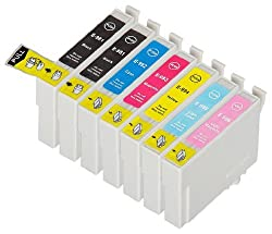 7 Pack Remanufactured Epson 98 99 T098920 T099920 2 Black 1 Cyan 1 Magenta 1 Yellow 1 lightycyan 1 lightymagenta for use with Epson Artisan 700 Artisan 710 Artisan 725 Artisan 730 Artisan 800 Artisan 810 Artisan 835 Artisan 837. Ink Cartridges for inkjet printers. T0981 T098120 T0992 T099220 T0993 T099320 T0994 T099420 T0995 T099520 T0996 T099620 Blake Prin