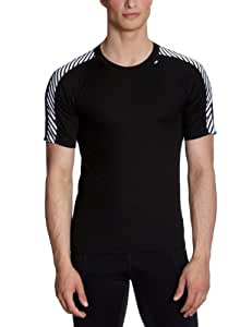 Helly Hansen Lifa Dry Stripe T-Shirt - Black Large