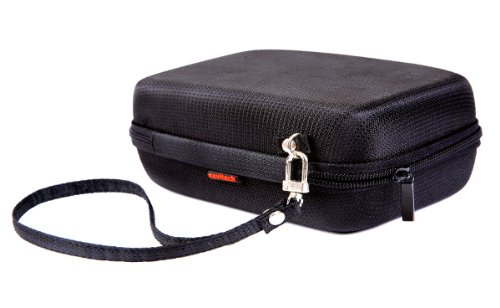 Navitech Black Eva Hard Carry Case for the TomTom VIA 1535 Series, TomTom VIA 1505 Series, TomTomStart 55 TM, TomTom Start 55 M, TomTom Start 55 5