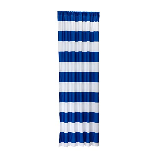 Little Bedding Stripe Window Panel, Blue