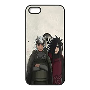 Naruto Uchiha Madara Rubber Case Cover for Apple Iphone 5 Customed Design Fashiondiy