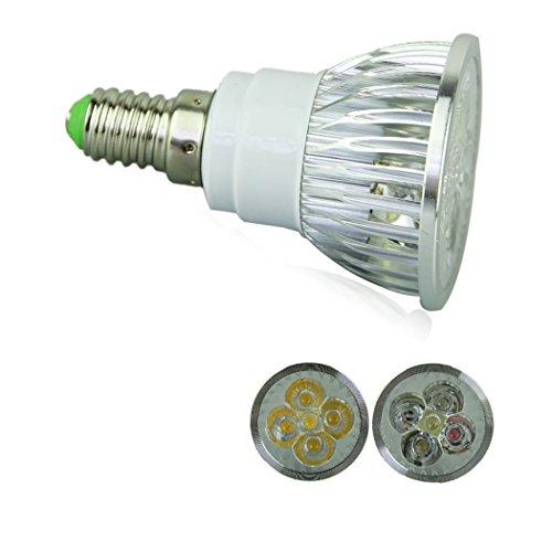 Voberry Ultra Bright E14 Led Spot Lights Lamp Bulb 15W 60 Degrees 85-265V Warm White (Warmwhite)