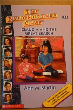 Claudia and the Great Search (Baby-Sitters Club)