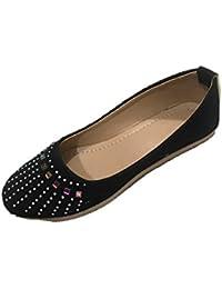 Ashwani Footwear Women's Rexine Bellies - B0749MX574
