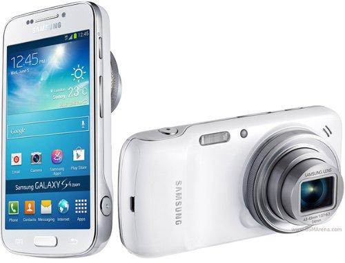 SIMフリーSamsung Galaxy S4 zoom Android4.24.3インチ/1.5GHzデュアルコア/LTE/NFCプリペイド050IP電話アプリ、国際電話プリカ付[並行輸入品] (ホワイト)