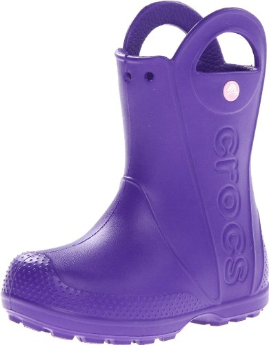 Crocs Handle It Ultraviolet Classic Rain Boot 12803-506-113 7 UK Toddler, 23/24 EU, 7 US