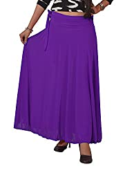 Ace Long Skirt- Purple