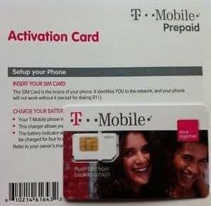 T-Mobile Sim Card Prepaid Kit