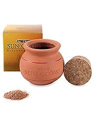 Medis Sun Glow - Poudre de Bronzage Ton Clair - Poudre dans Un Creuset en Argile - 15 g