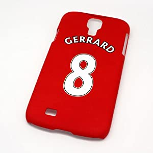 Liverpool FC Gerrard Football Shirt Style Cover Case for Samsung Galaxy S4 by SmartRestyle