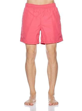 Ralph Lauren - Short de bain -  Homme Rose Rose -  Rose - Rouge - petit