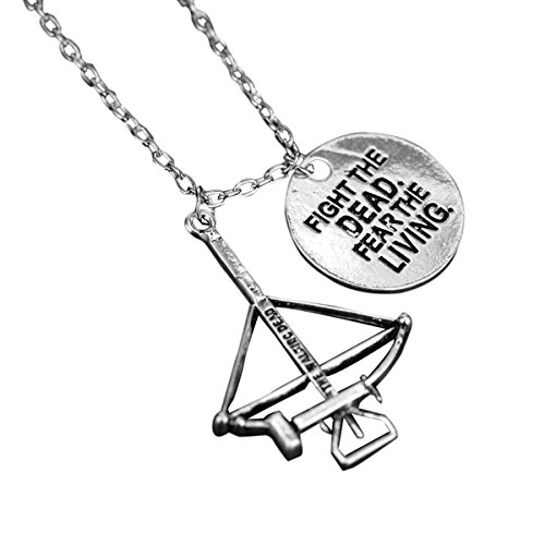 The Walking Dead necklace Alloy Fighting the death Fear the living pendant Necklace