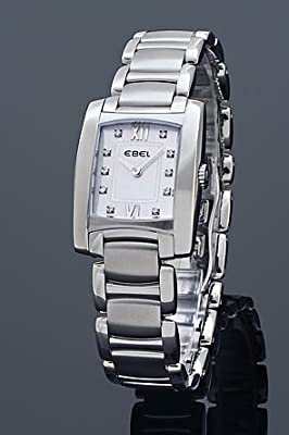 Ebel Brasilia Mini Mother-of-Pearl Dial Diamond Watch 1215605 by Ebel