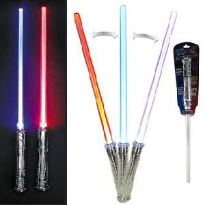 Loftus International Intergalactic LED Light Sonic Saber Sword with Sounds & Color Changing Effects