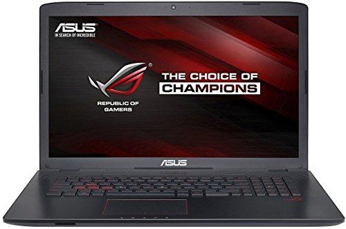 Asus ROG GL752VW-T4188T N 43,94 cm (17,3 Zoll Full HD) Notebook (Intel Core i7 6700HQ, 8GB RAM, 2TB HDD, 256GB SSD,  NVIDIA GTX960M, Windows 10 Home) mattschwarz
