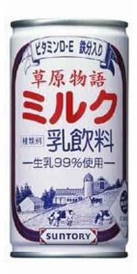 サントリー 草原物語ミルク×30本