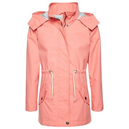 Tom Tailor Mini Girls - geblümte Softshell-Jacke - strong peach tone (3479) - Gr. 116/122