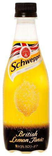 コカ・コーラ Schweppes ブリティッシュレモントニック 410ml×24本