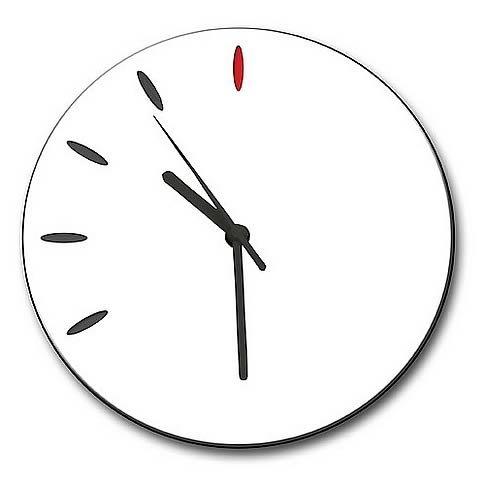Watchmen Replica Wooden Doomsday Wall Clock