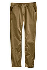 Fair Indigo Men's Fair Trade Pima Cotton Khaki Pants
