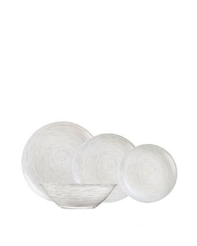 Luminarc Vajilla Redonda 19 Piezas Modelo Stonemania Blanco