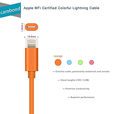 Cambond® 10FT/3M Plastic Lightning Cable from Cambond