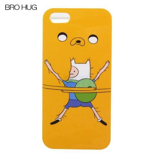 Adventure time iPhone5 ハードカバーアニメキャラアイ von 5 case shop / [BroHUG]