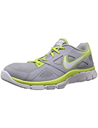 Nike Flex Supreme Tr 2 Mens Wolf Grey/White-Volt Running Sneakers