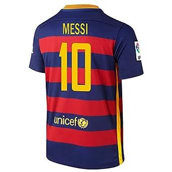 Amazon.com: Nike Messi #10 Barcelona Home Soccer Jersey 2015/2016