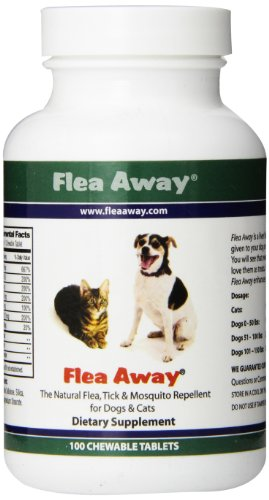 Flea Away - 100 Chewable Tablets by Flea Away