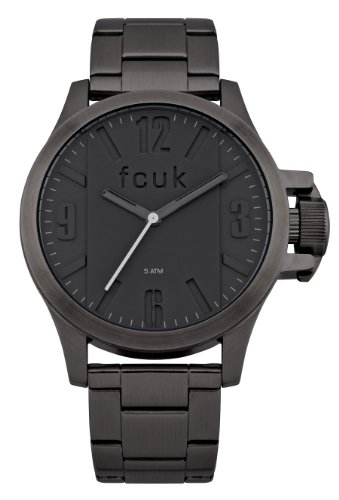 FRENCH CONNECTION FC1162BM - Reloj de pulsera hombre, acero inoxidable, color negro